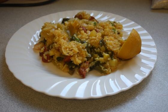 Spanish risotto/paella