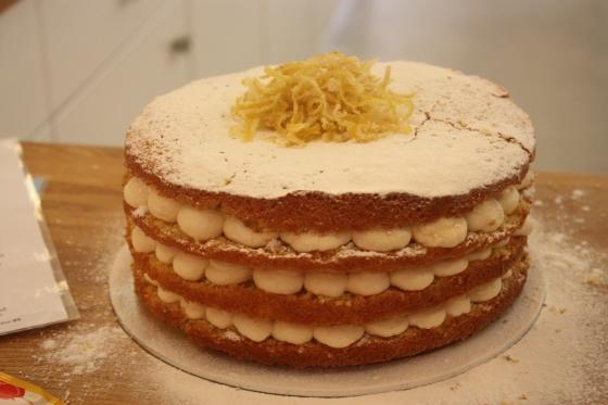 lemon sherbet cake