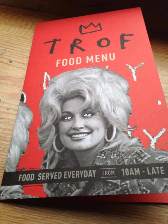 dolly menu trof