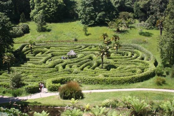 Glendurgan gardens, Cornwall