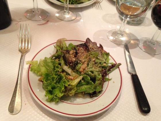 Walnut salad le relais de venise
