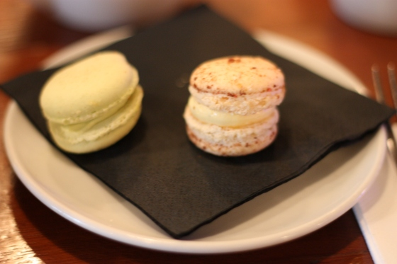 Macarons at Selfridges