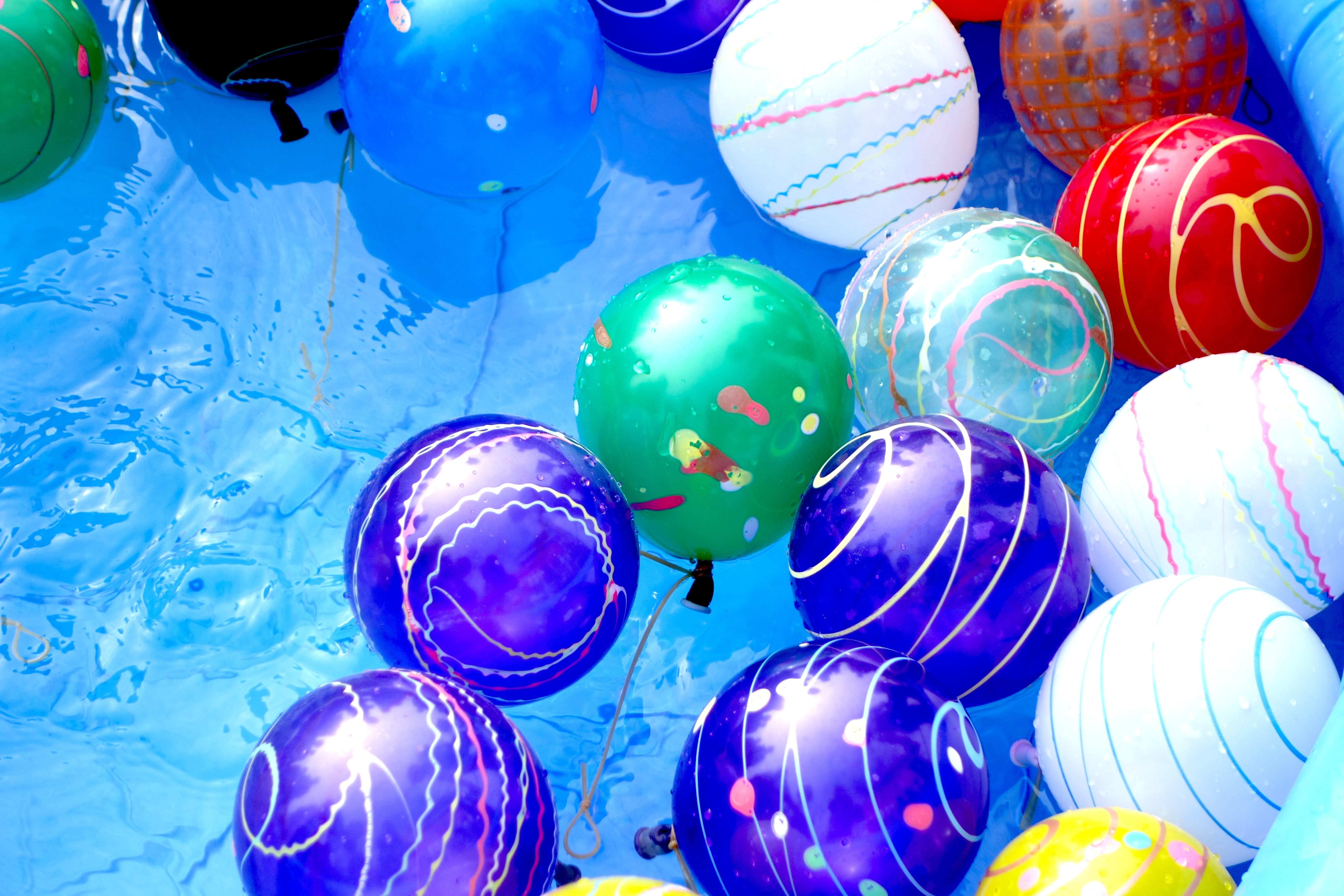 Water balloons, Japan Matsuri Festival 2014 Trafalgar Square