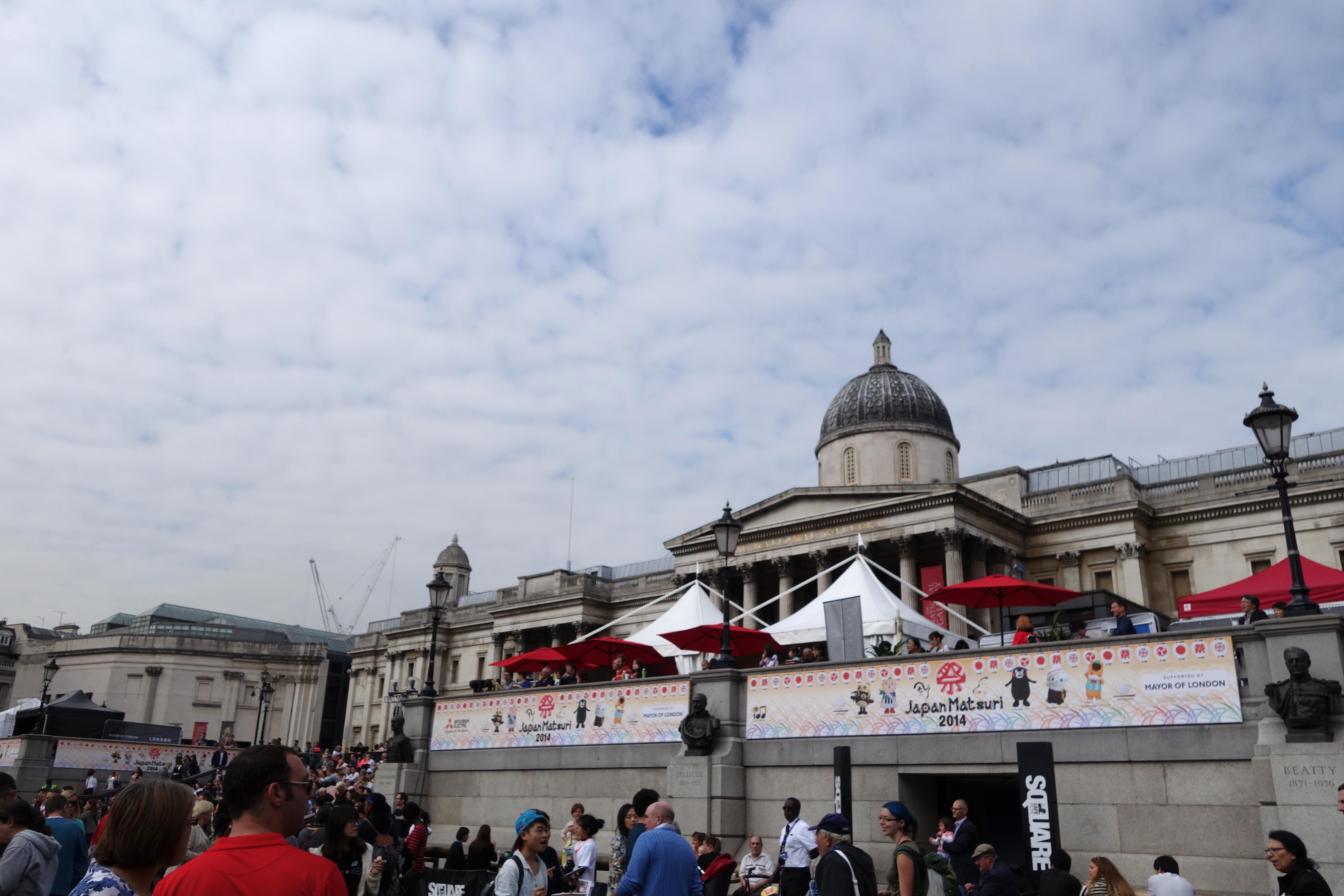 japan matsuri festival trafalgar square 2014