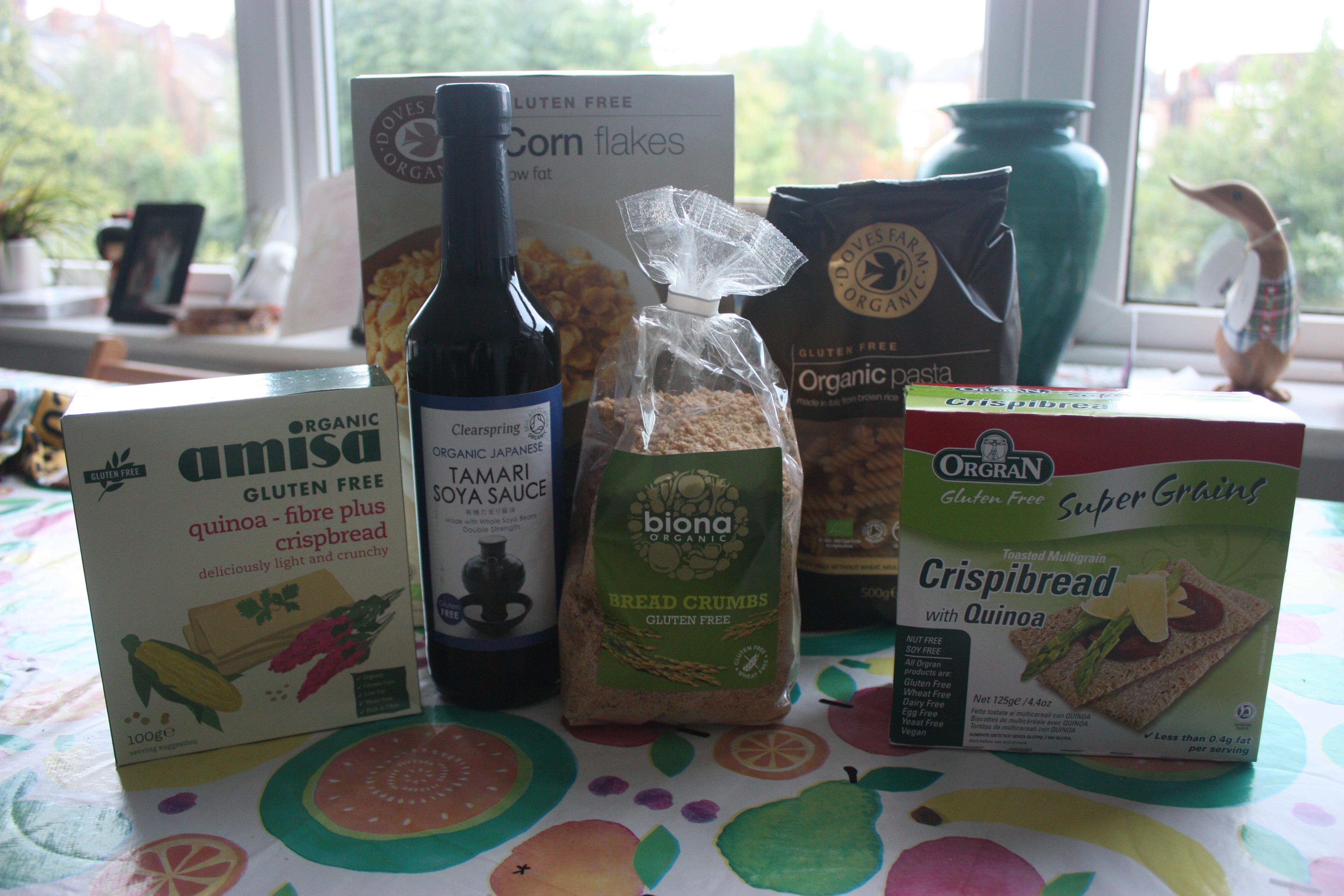Planet Organic Gluten free haul