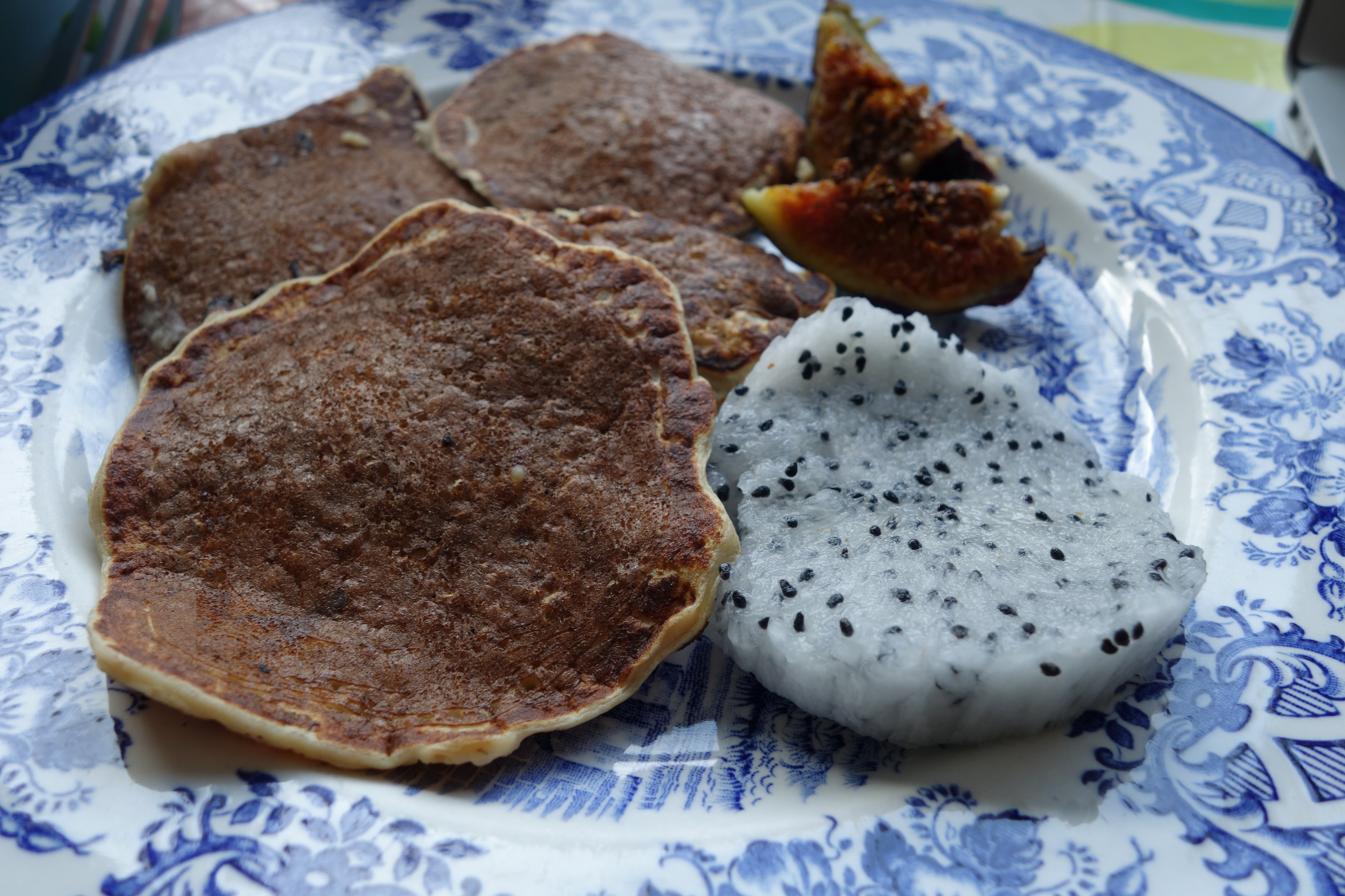 Vanilla protein oat pancakes (gluten free)