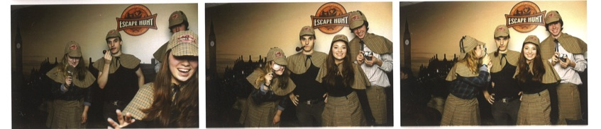Escape hunt  photobooth