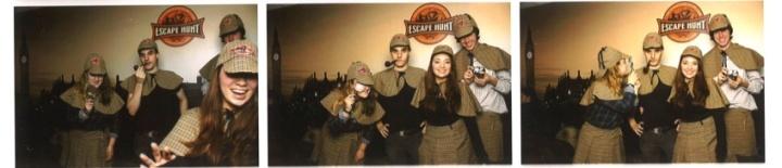 Escape hunt  photobooth