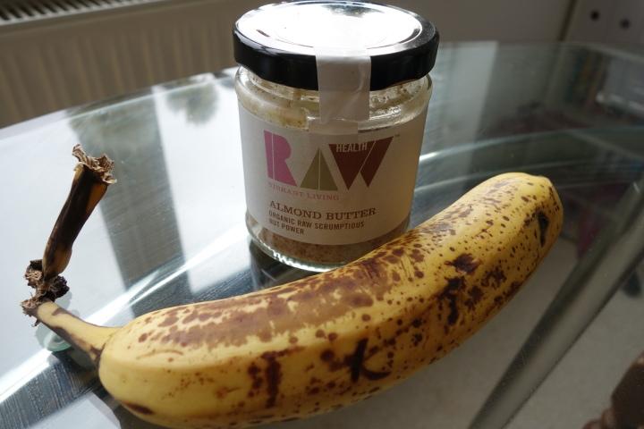 almond butter banana