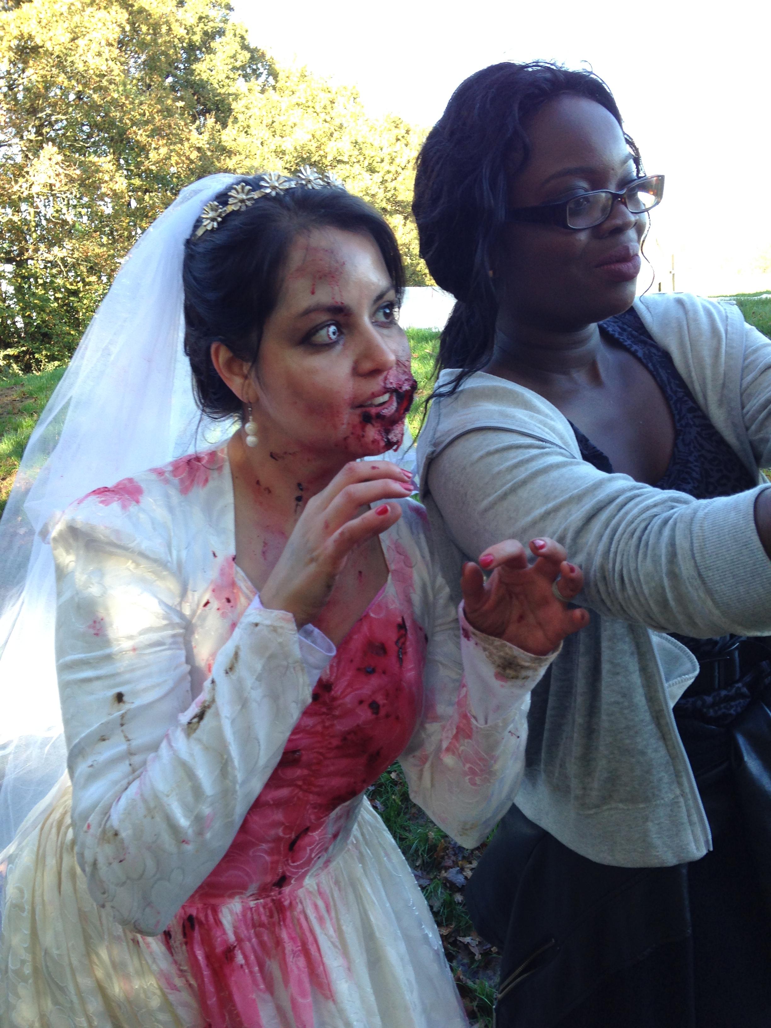 zombie evacuation race