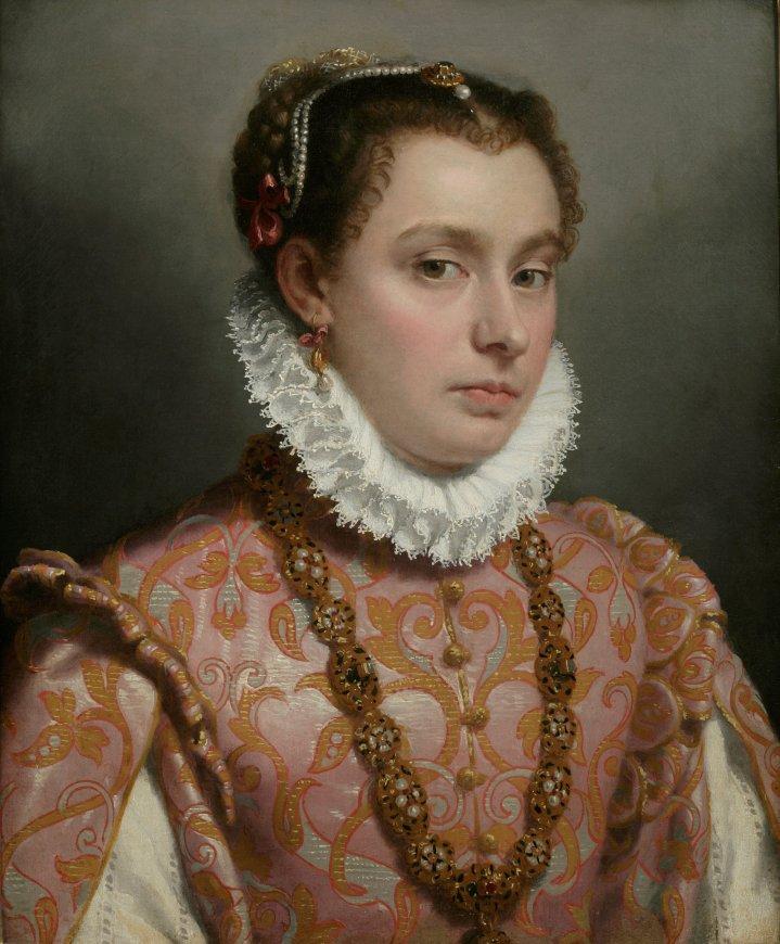 Giovanni Battista Moroni Young Lady, c.1560-65 Oil on canvas, 51 x 42 cm Private collection Photo Private collection