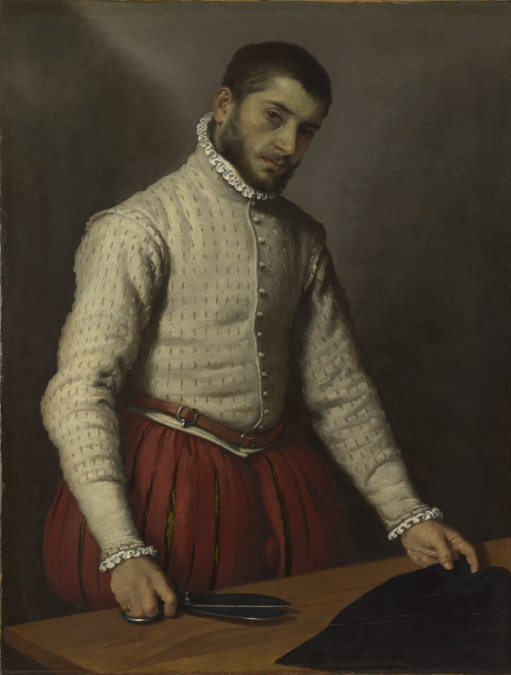 Giovanni Battista Moroni The Tailor, 1565-70 Oil on canvas, 99.5 x 77 cm The National Gallery, London Photo © The National Gallery, London